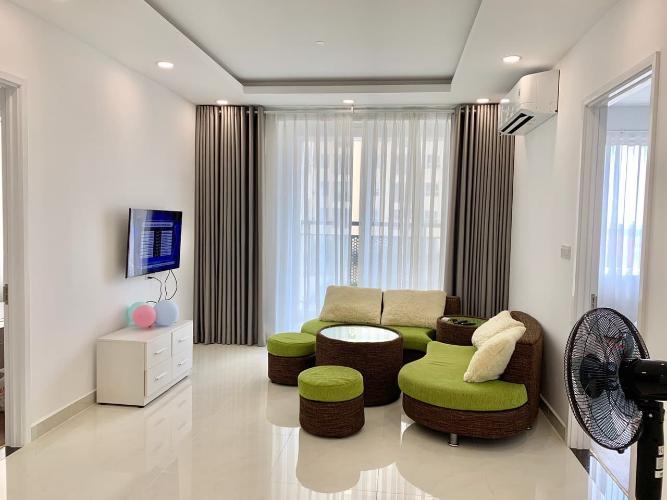 Cho thuê căn hộ Saigon Mia 2PN, diện tích 76m2, đầy đủ nội thất, ban công hướng Nam