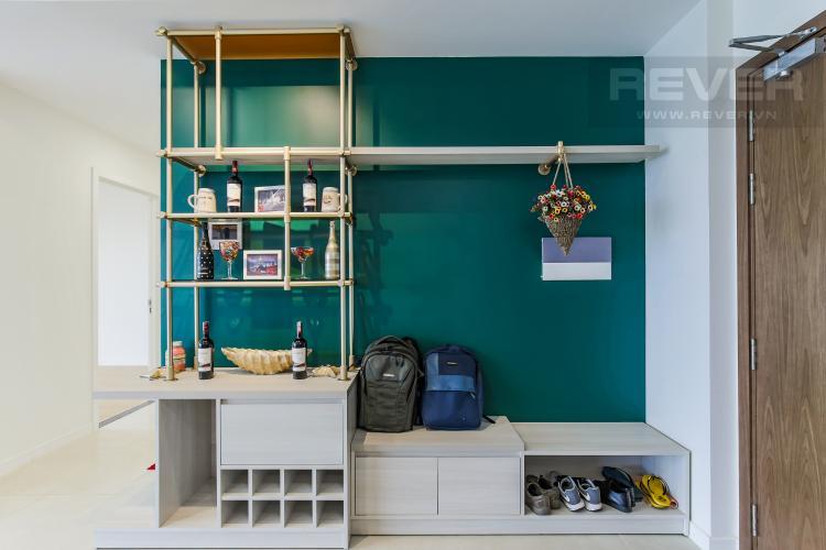 Kệ Giày Cho thuê căn hộ Masteri Millennium 3PN, diện tích 107m2, đầy đủ nội thất, view Bitexco