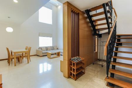 Duplex 1 phòng ngủ Saigon Pavillon nội thất đầy đủ