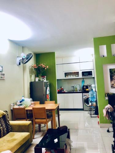 Phòng ăn và bếp nhà phố Gò Vấp Bán nhà 3 tầng hẻm Nguyên Hồng, Gò Vấp, nội thất cơ bản, cách MT Phan Văn Trị khoảng 150m