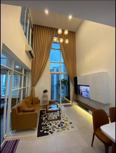 Căn hộ tầng cao Vista Verde đầy đủ tiện nghi, view thành phố.