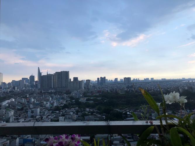 View căn hộ GALAXY 9 Căn hộ Galaxy 9 tầng 17, view thành phố cực thoáng mát