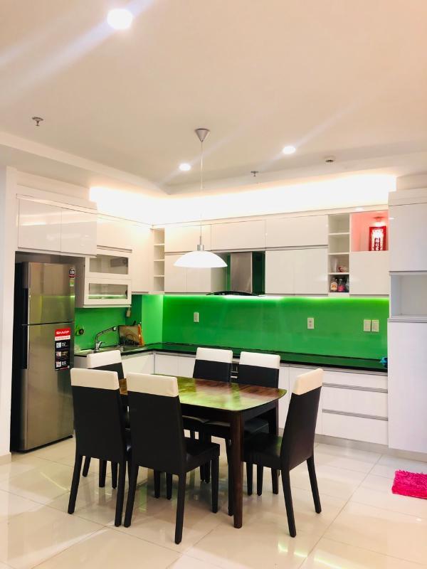 kitchen Bán hoặc cho thuê căn hộ Tropic Garden 2PN, tầng 22, tháp C2, đầy đủ nội thất, hướng Tây Bắc