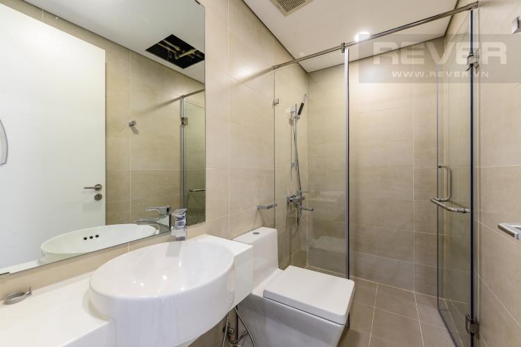 Phòng tắm 1 Cho thuê căn hộ Masteri Millennium 2PN nội thất đầy đủ, tiện ích đa dạng