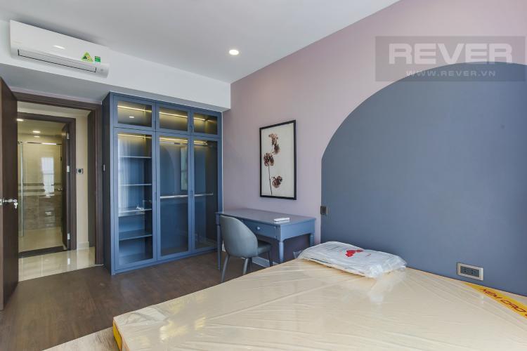 Phòng Ngủ 2 Cho thuê căn hộ Saigon Royal 2PN, tầng cao, đầy đủ nội thất, view sông thoáng mát