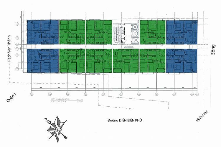 Dự án 152 Điện Biên Phủ - mat-bang-can-ho-dien-hinh-du-an-152-dien-bien-phu