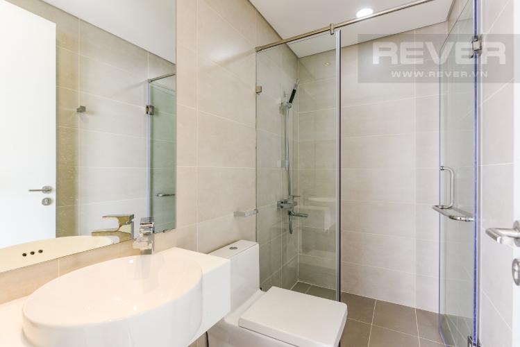 Phòng tắm 2 Cho thuê căn hộ Masteri Millennium tầng cao 2PN đầy đủ nội thất