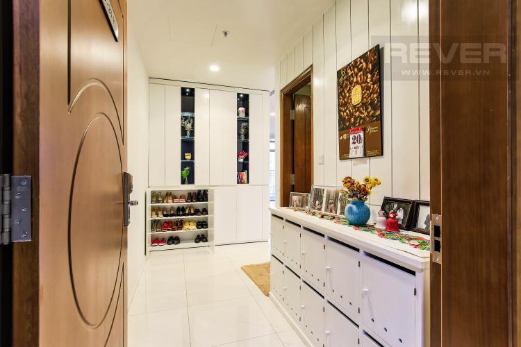 Phòng để quần áo Căn góc Vinhomes Central Park tầng cao Central 3 view sông