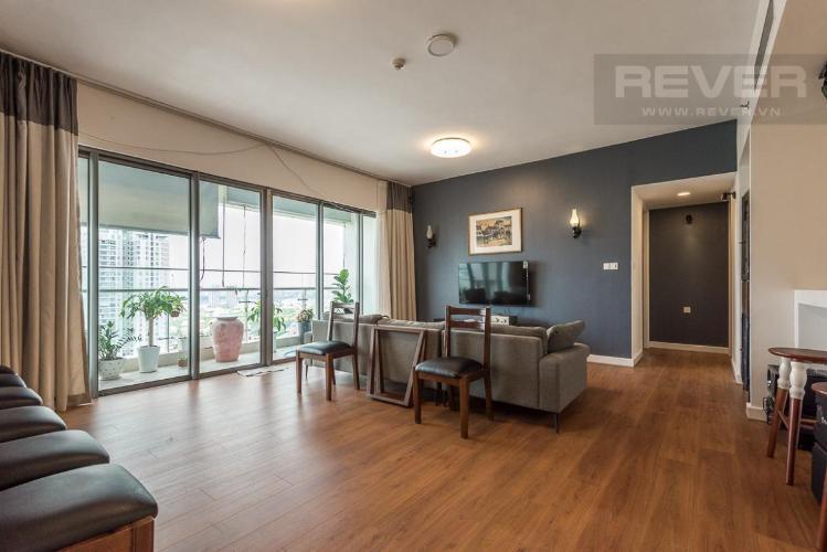 Cho thuê căn hộ Gateway Thảo Điền 4PN, tầng cao, đầy đủ nội thất, căn góc view sông và Landmark 81