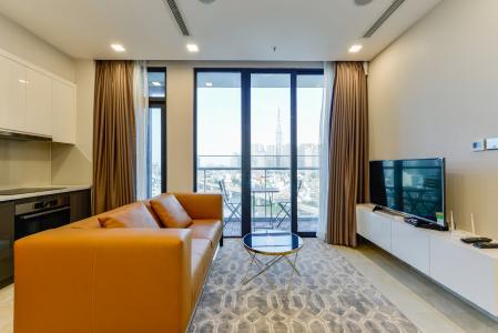 Cho thuê căn hộ Vinhomes Golden River tầng trung 2PN đầy đủ nội thất