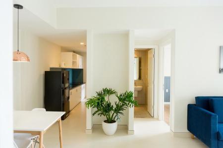 Cho thuê căn hộ Masteri Thảo Điền 2PN, tầng thấp, tháp T5, đầy đủ nội thất