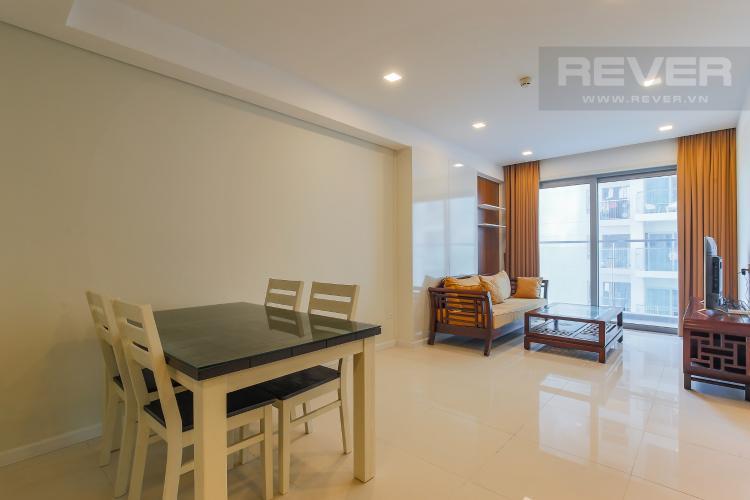 Bàn Ăn Cho thuê căn hộ 607B Rivera Park Sài Gòn 2PN, nội thất đầy đủ, view hồ bơi
