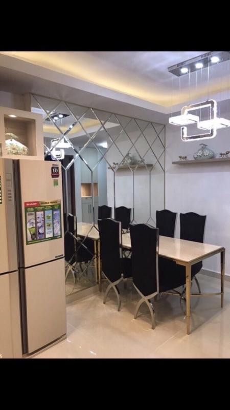 IMG_7429 Cho thuê căn hộ Sky Center Tân Bình 2PN, diện tích 75m2, ban công hướng Bắc thông thoáng