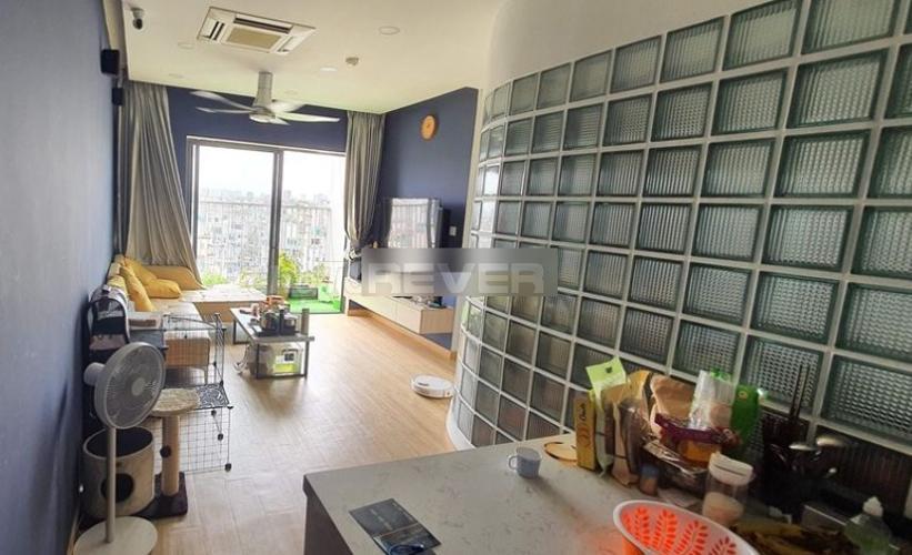Phòng khách chung cư Viva Riverside, quận 6 Căn hộ Viva Riverside thiết kế trẻ trung, nội thất hiện đại.