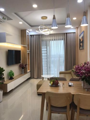 nôi thất căn hộ 2 phòng ngủ the sun avenue Căn hộ The Sun Avenue tầng trung, nội thất đầy đủ.