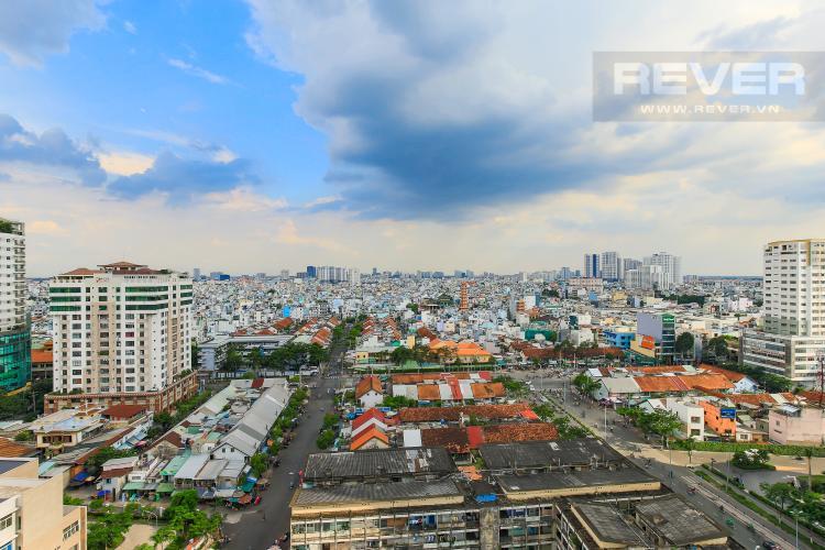View Bán và cho thuê căn hộ Masteri Millennium 2PN, rộng rãi, view đẹp