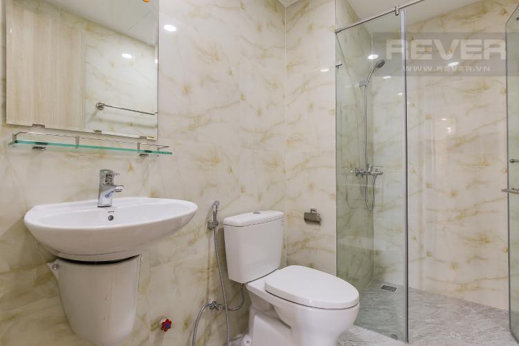 Phòng Tắm 2 Căn hộ The Gold View 2 phòng ngủ tầng cao A1 nội thất đầy đủ