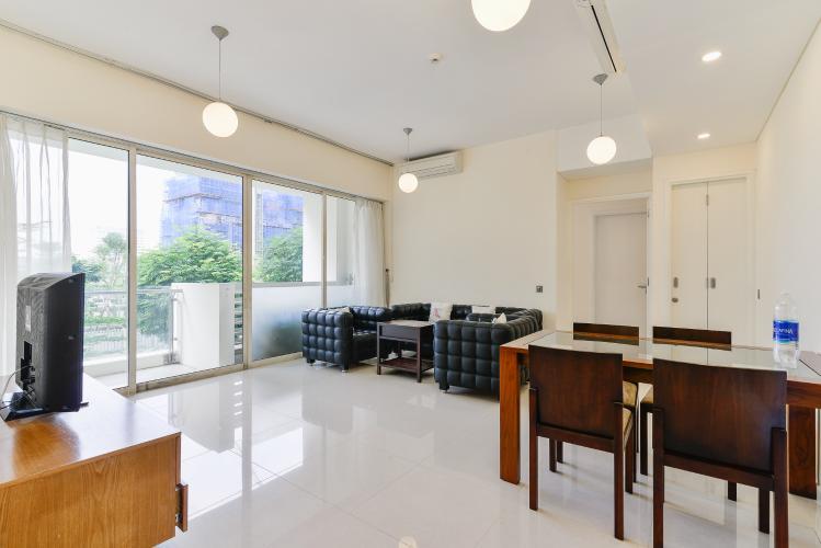 Căn hộ The Estella Residence tầng thấp, 2 phòng ngủ, nội thất đầy đủ