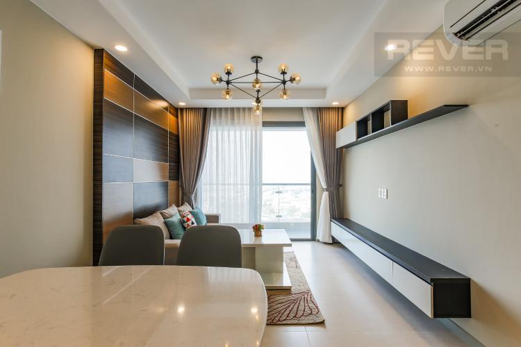 Phòng Khách Căn hộ The Gold View 2 phòng ngủ tầng cao A1 đầy đủ tiện nghi
