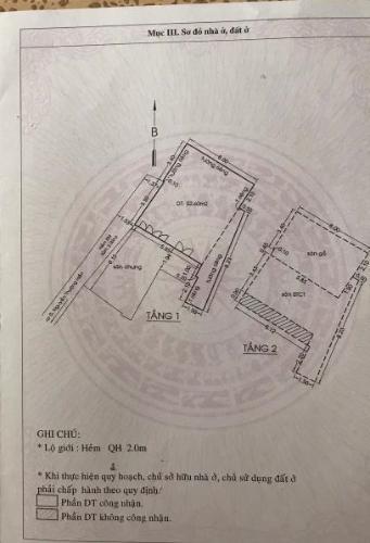 Bản  vẽ nhà phố Thích Quảng Đức, Phú Nhuận Nhà phố hẻm hướng Tây Nam, có sân trước rộng rãi, bàn giao sổ hồng.