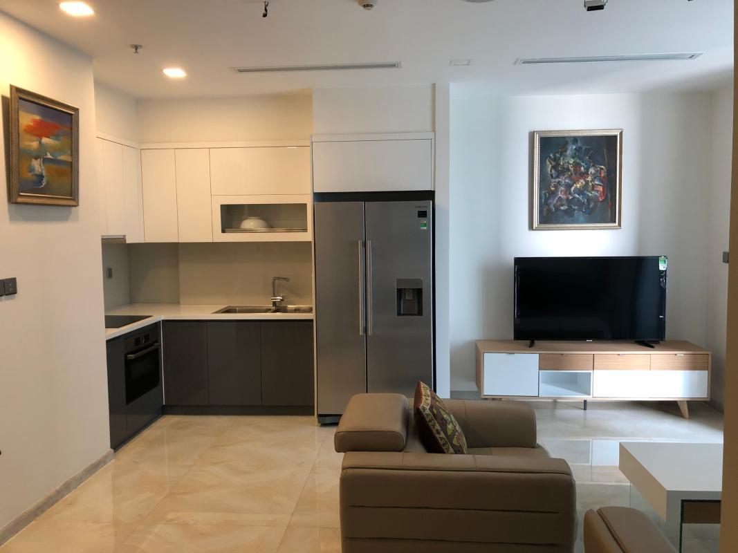Ba Son Cho thuê căn hộ Vinhomes Golden River 2PN, tháp The Luxury 6, diện tích 77m2, đầy đủ nội thất, hướng Tây Nam