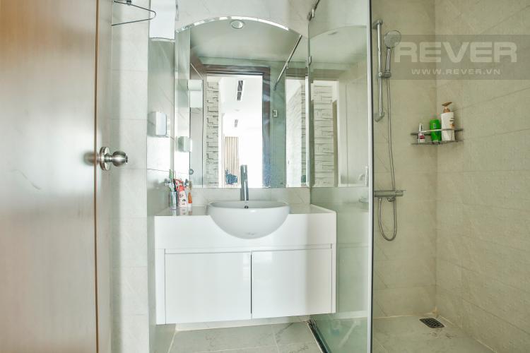 Toilet 2 Căn hộ Vinhomes Central Park 3 phòng ngủ tầng cao L1 view sông