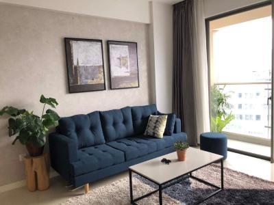 Cho thuê căn hộ Masteri Millennium 2PN, tầng cao, block B, đầy đủ nội thất, view thành phố