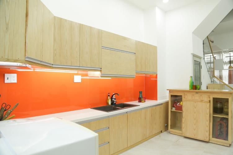 Phòng bếp nhà phố Nhà phố hướng Đông Nam diện tích đất 3mx 14m, hẻm xe máy.