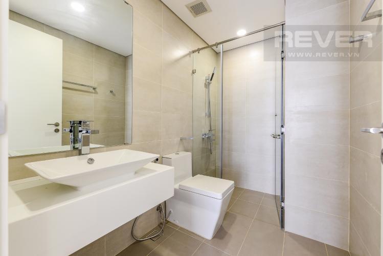 Phòng tắm 1 Cho thuê căn hộ Masteri Millennium tầng cao, 2PN, view sông
