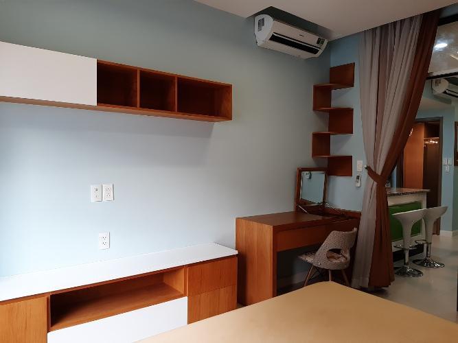 Phòng ngủ căn hộ Lexington Residence Căn hộ Lexington Residence nội thất đầy đủ, view nội khu.
