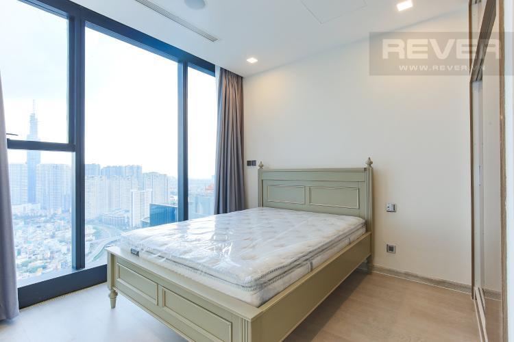 Phòng Ngủ 1 Officetel Vinhomes Golden River 2 phòng ngủ tầng cao A3 đầy đủ nội thất