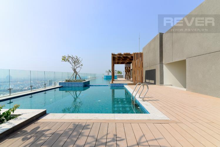 Hồ Bơi Chung Cư Căn hộ The Gold View 2 phòng ngủ tầng thấp tháp B đầy đủ nội thất