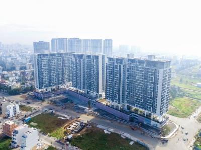 Bán căn hộ One Verandah 2PN, diện tích 81m2, nội thất cơ bản, view sông và Quận 1