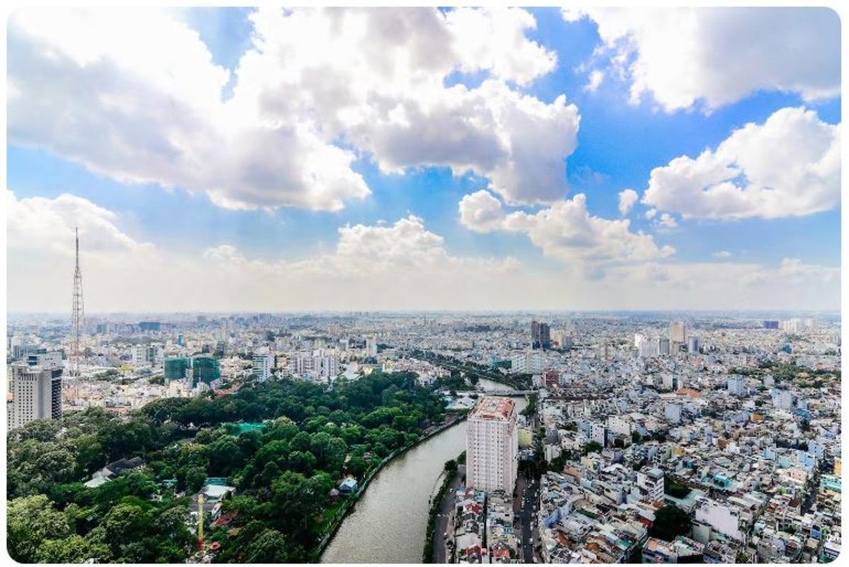 02 Bán căn hộ Vinhomes Golden River 2PN, tháp The Aqua 1, nội thất cơ bản, view sông và Landmark 81
