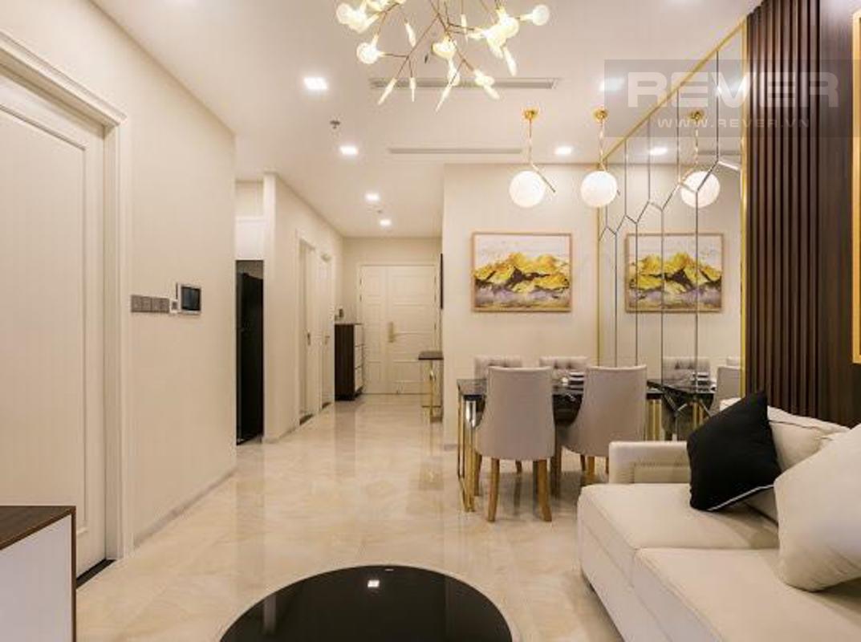 cce15342891f6f41360e Cho thuê căn hộ Vinhomes Golden River 2PN, tầng cao, tháp The Aqua 2, đầy đủ nội thất, view sông và tháp Landmark 81