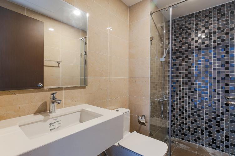 Phòng Tắm Căn hộ The Tresor tầng cao 2PN đầy đủ nội thất, có ban công