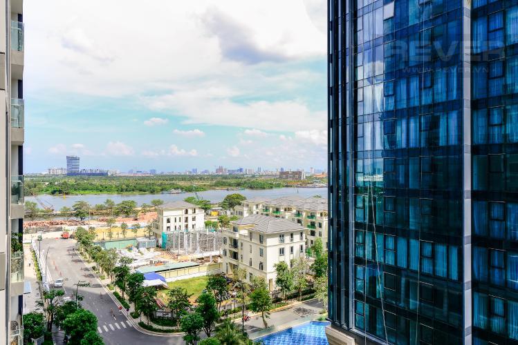 View Cho thuê căn hộ Vinhomes Golden River 1PN, tháp The Aqua 1, view sông Sài Gòn