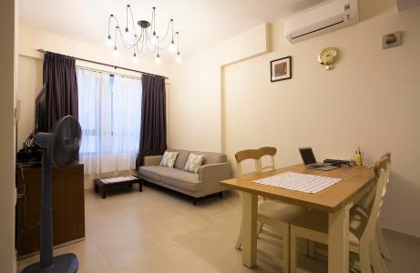 Căn hộ Masteri Thảo Điền 2 phòng ngủ tầng cao T4 view nội khu