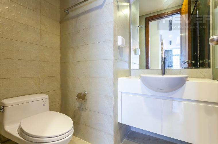 Phòng tắm 1 Căn hộ Vinhomes Central Park tầng cao Landmark 1 view đẹp