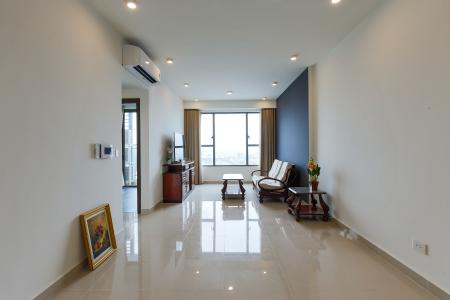 Cho thuê căn hộ The Tresor tầng cao, 3PN, view sông Sài Gòn