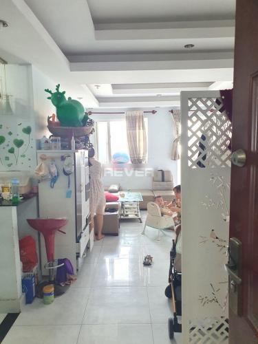Phòng khách chung cư Nhất  Lan, Bình Tân Căn hộ chung cư Nhất Lan tầng trung, cửa chính hướng Đông.