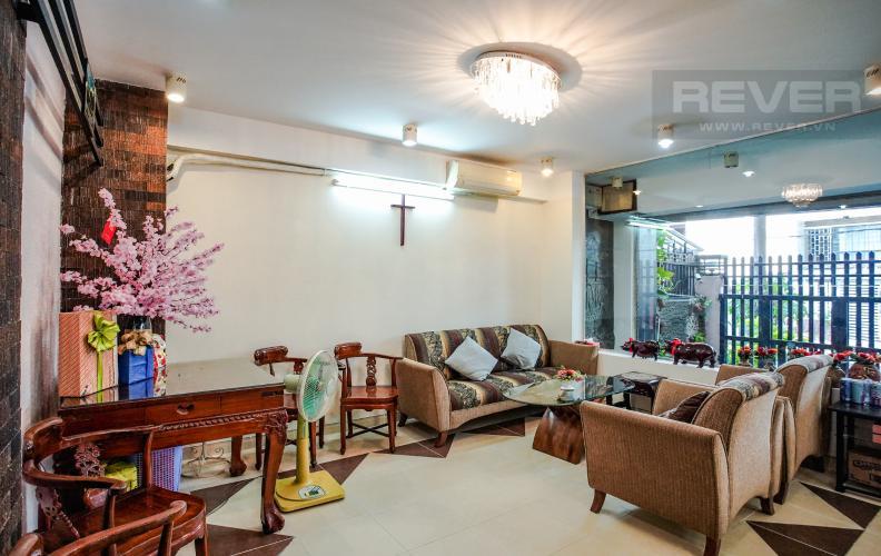 Phòng Khách Bán nhà phố KDC Trung Sơn Q.7, 3 tầng, 17PN, diện tích sử dụng 350.4m2, có hầm để xe