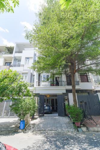 Mặt Tiền Bán biệt thự 4 tầng, 4PN, đầy đủ nội thất cao cấp, khu B phường An Phú, Quận 2
