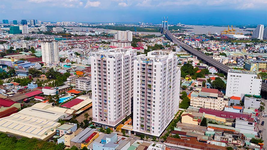 Toàn cảnh Lux City, Quận 7 Căn hộ Lux City tầng 19, 3 phòng ngủ, view thành phố lung linh.