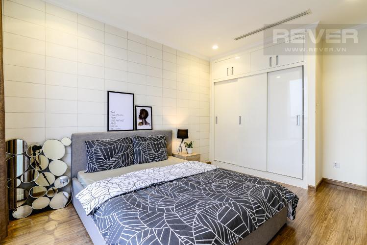 Phòng Ngủ 1 Căn hộ Vinhomes Central Park 2 phòng ngủ tầng cao L2 hướng Tây Nam