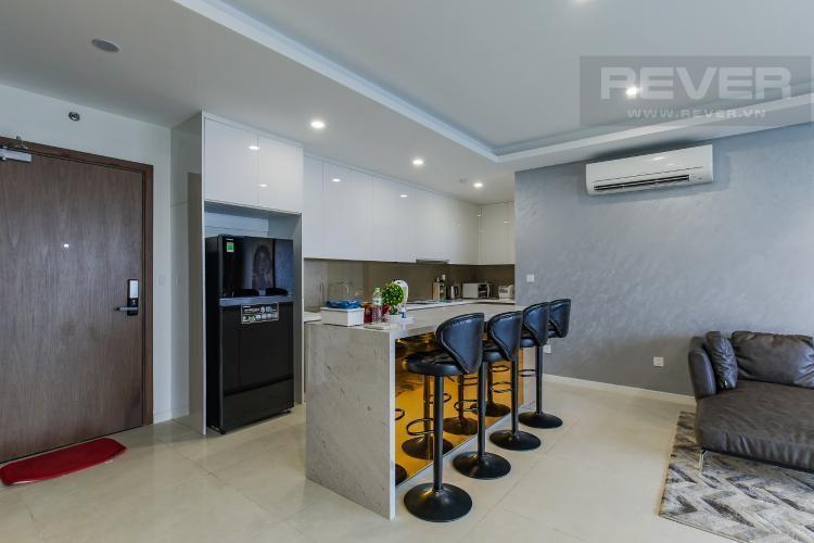 Phòng khách Masteri Millennium Quận 4 Căn hộ Masteri Millennium tầng 7, đầy đủ nội thất.