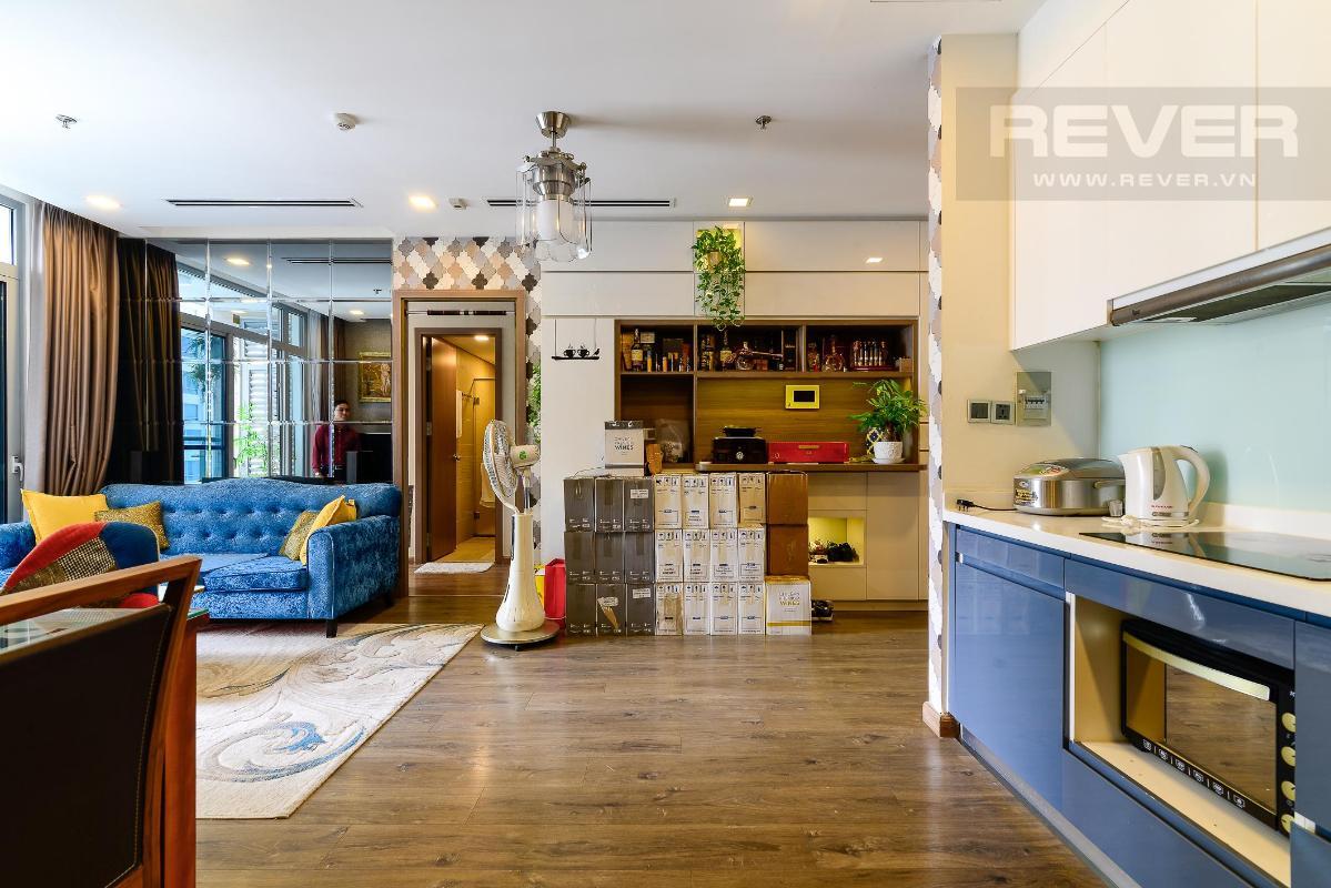 27 Cho thuê căn hộ Vinhomes Central Park 2PN, tháp Park 1, đầy đủ nội thất, view sông thoáng mát