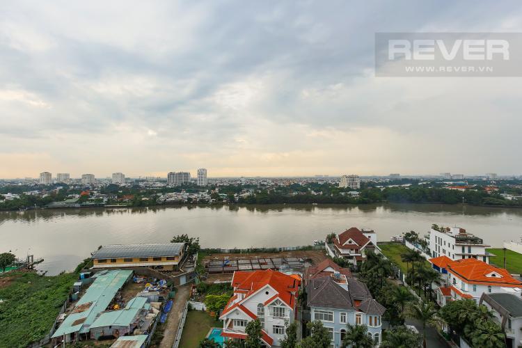 View Căn hộ Xi Riverview Palace 3 phòng ngủ tầng trung block 101 nội thất có sẵn