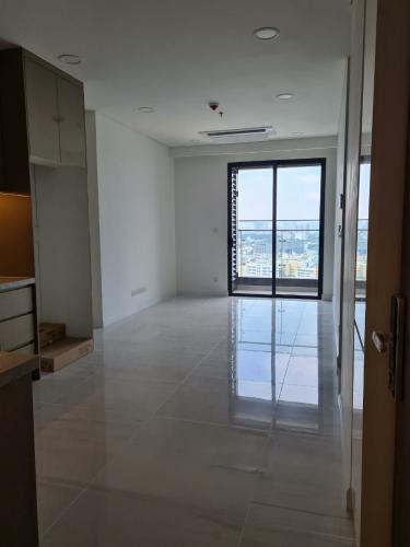 Phòng khách căn hộ Kingdom 101 Cho thuê căn hộ Kingdom 101,  tầng cao, diện tích 49.58m2, 1PN, ban công hướng Đông Nam