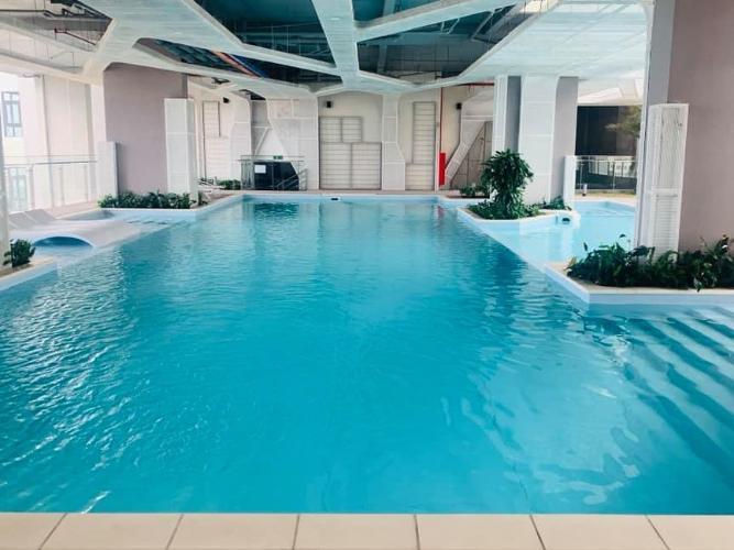 Hồ bơi khu căn hộ DE CAPELLA Cho thuê căn hộ De Capella 2PN, block B, diện tích 80m2, đầy đủ nội thất, hướng ban công Đông Bắc